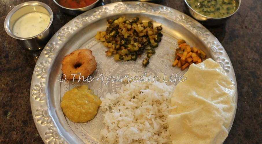 Traditional South Indian Meal