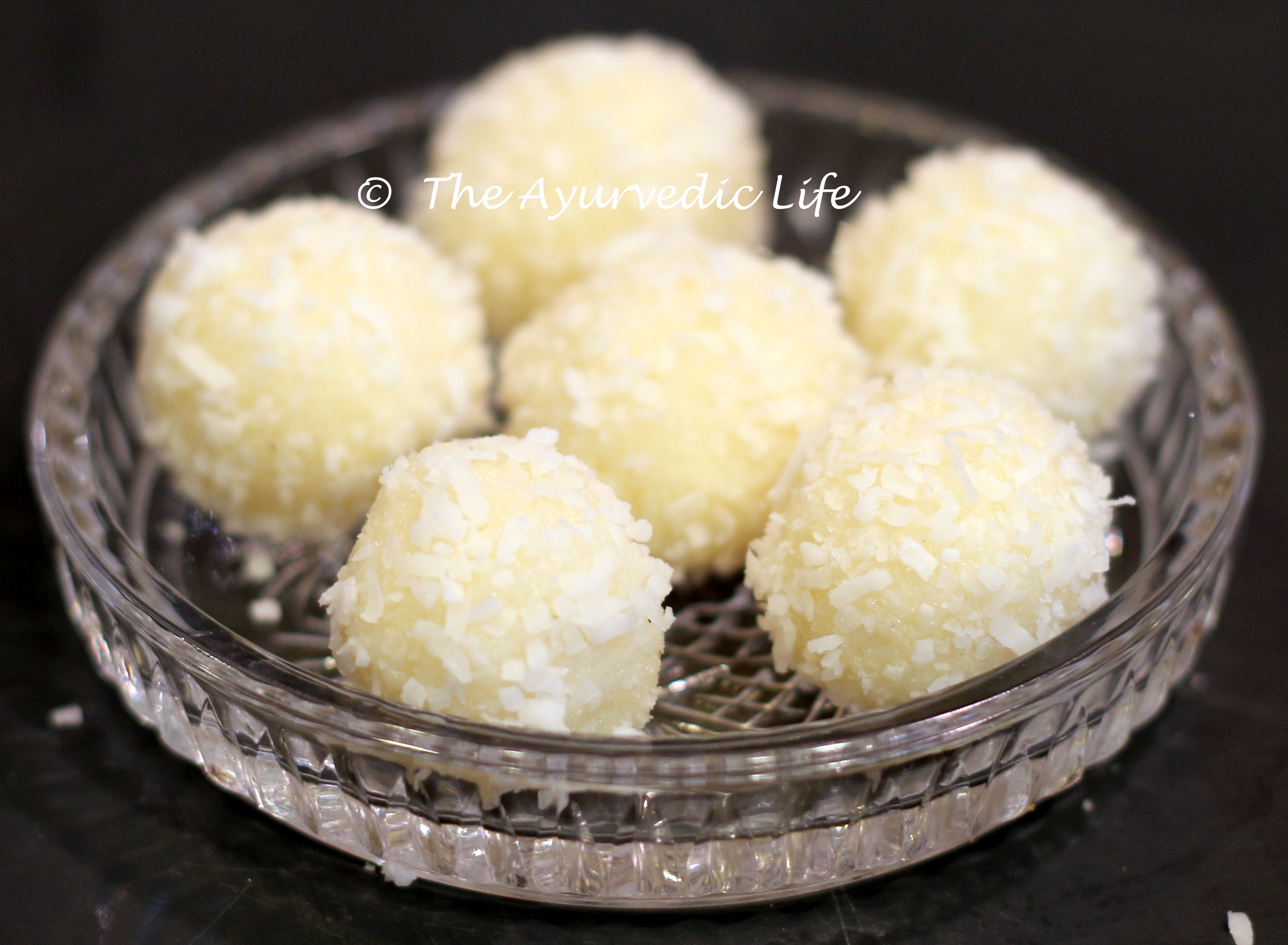 Dessert the ayurvedic life choose wisely and live well coconut laddoo forumfinder Gallery
